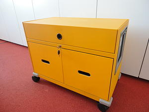 Vitra Rollcontainer Pick Up gelb